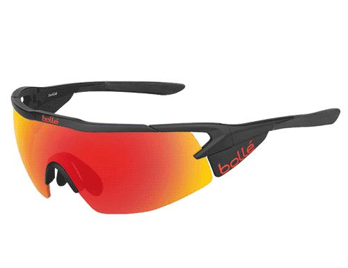 Bolle Aeromax Glasses - Matte Black Fire
