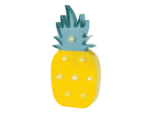 LED Pineapple Light