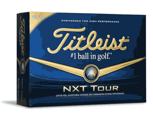 Titleist Golf Balls NXT Tour  - Dozen
