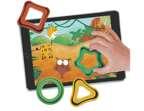 Tiggly Shapes Learning System