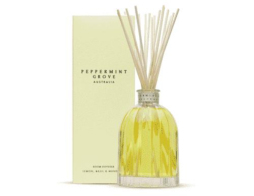 Peppermint Grove Lemon, Basil & Mandarin Room Diffuser 350ml