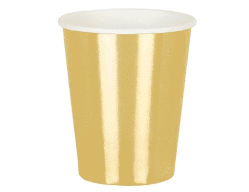 Metallic Cups - Gold