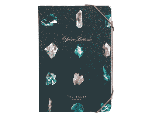 Ted Baker London A5 Notebook & Sticky Notes