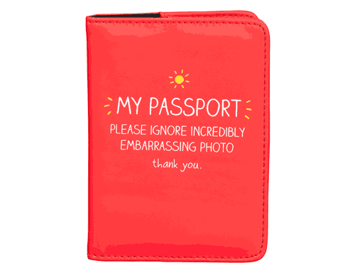 Happy Jackson Passport Holder My Passport