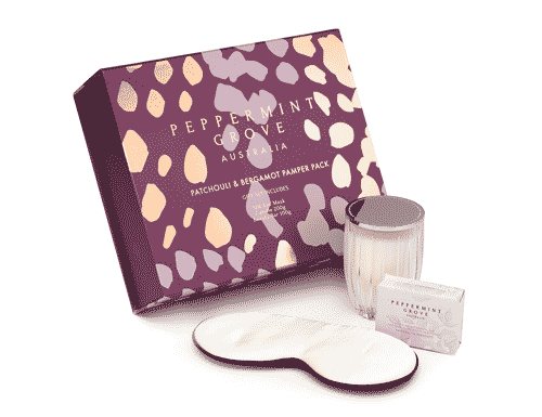 Peppermint Grove Patchouli & Bergamot Pamper Pack Gift Set