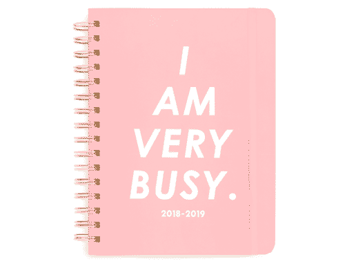 ban.do Rough Draft Mini Notebook - I am very Busy