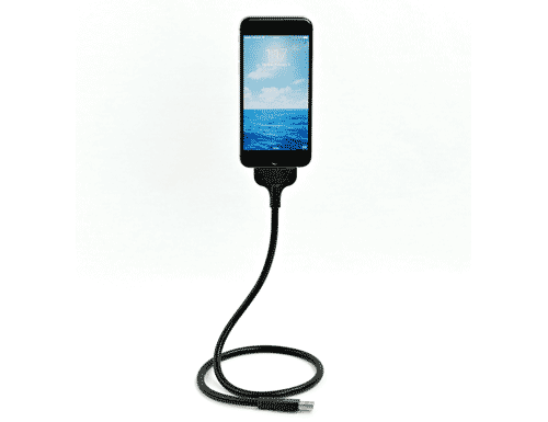Strong Flexible Auto Lightning Cable for iPhone