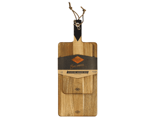 Gentlemen's Hardware Serving Board Set