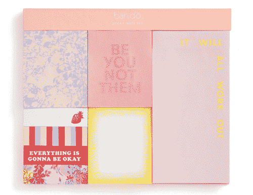 ban.do Sticky Note Set - Be You Not Them