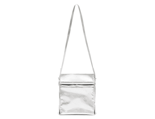 Ban.do What's for Lunch? Crossbody Bag - Metallic Silver