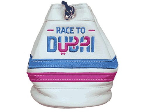 Race to Dubai Golfers Valuables Pouch