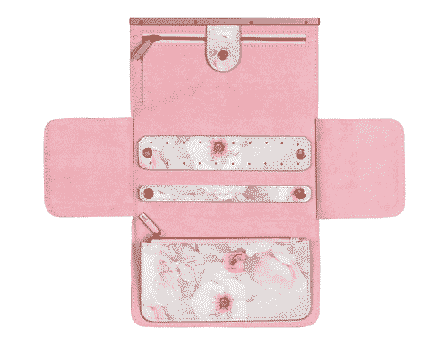 Ted Baker London Jewellery Roll Chelsea Border