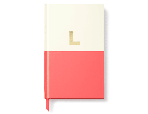 Kate Spade New York Dipped Initial Collection - Journal, L