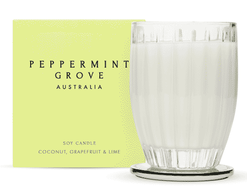 Peppermint Grove Coconut, Grapefruit & Lime Candle 350g