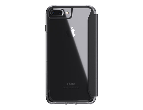 Survivor Clear Wallet for iPhone 7+/8+ Dual in Black/Clear Color