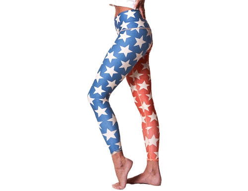 Teeki Stars and Stripes Leggings