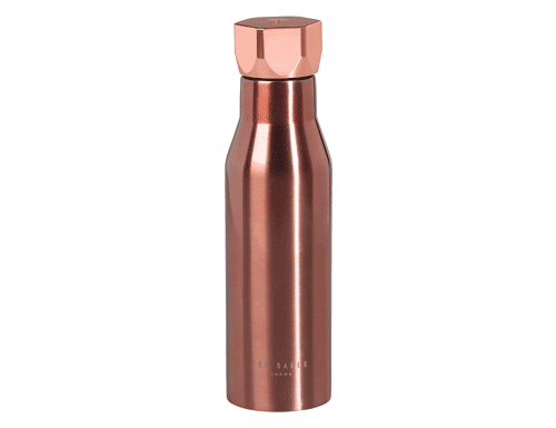 Ted Baker London Water Bottle with Hexagonal Lid