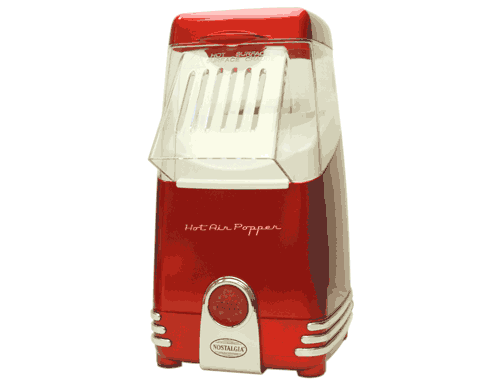 Nostalgia Retro Red Hot Air Popcorn Maker
