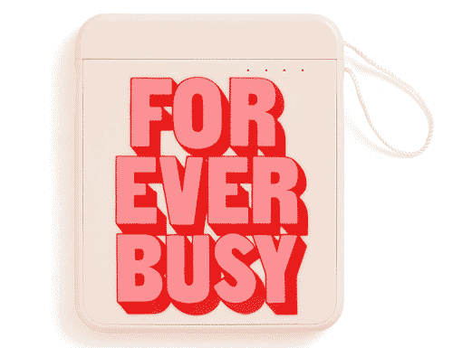 Ban.do Back me up! Mobile Charger - Forever Busy