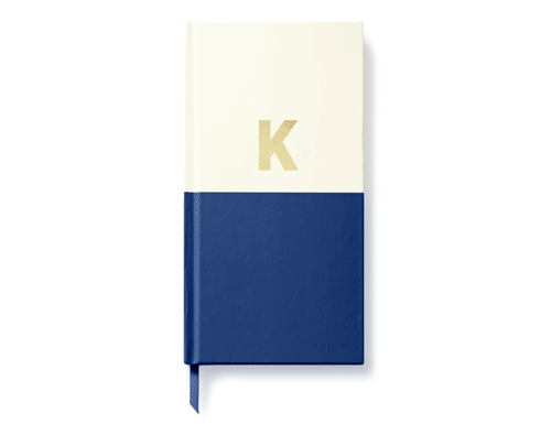 Kate Spade New York Dipped Initial Collection - Journal, K