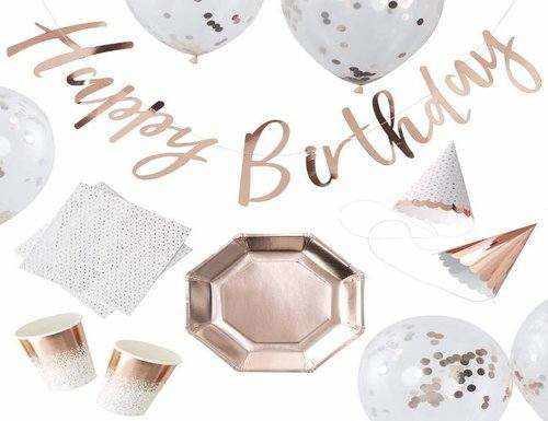 Rose Gold Party Box