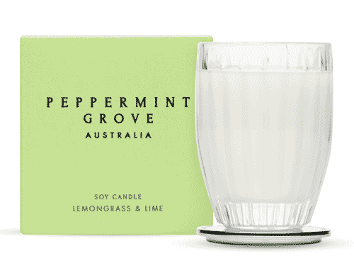 Peppermint Grove Lemongrass & Lime Candle 200g