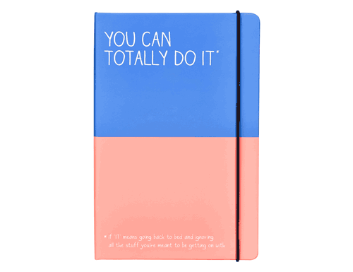 Happy Jackson Notebook You Can Totally Do It
