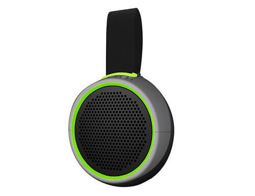 Braven 105 Waterproof Bluetooth Speaker Silver Green