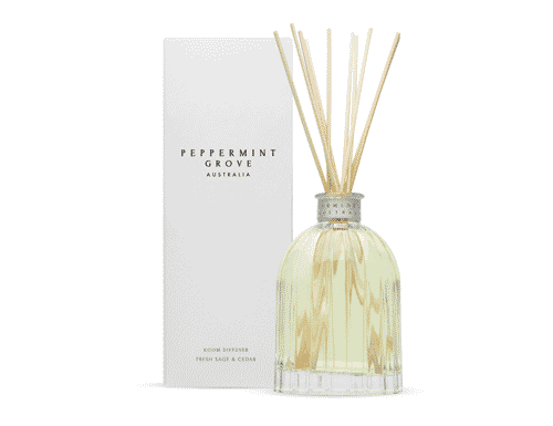 Peppermint Grove Fresh Sage & Cedar Room Diffuser 350ml