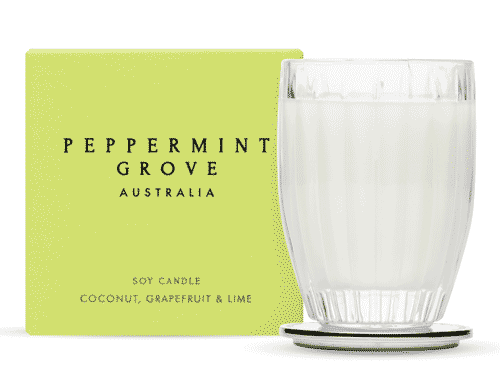Peppermint Grove Coconut, Grapefruit & Lime Candle 200g