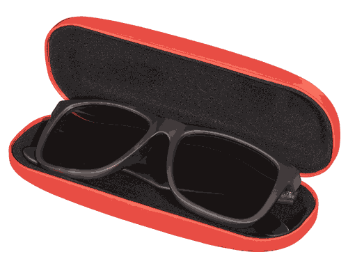 Happy Jackson Genius Glasses Case