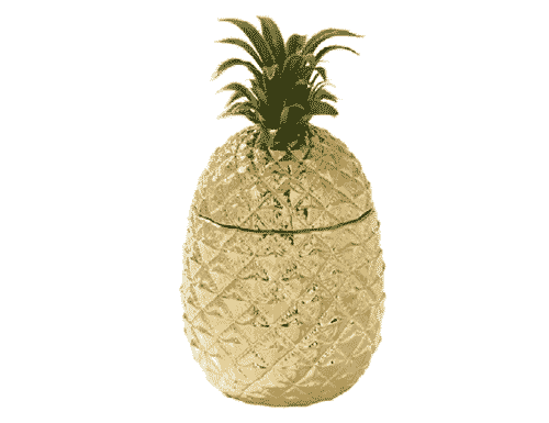 Pineapple Ceramic Ice Bucket