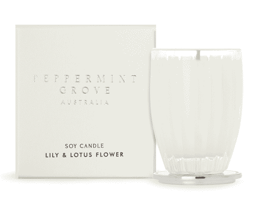 Peppermint Grove Lily & Lotus Flower Candle 60g