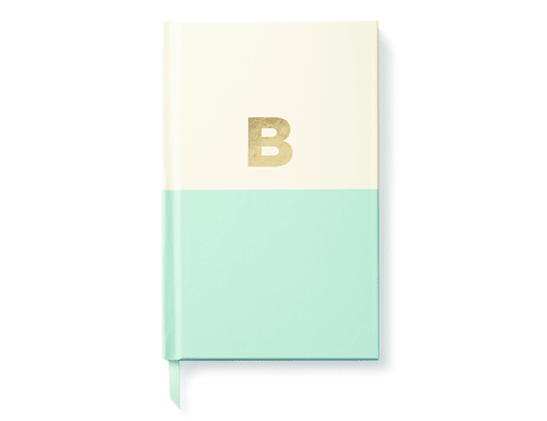 Kate Spade New York Dipped Initial Collection - Journal, B