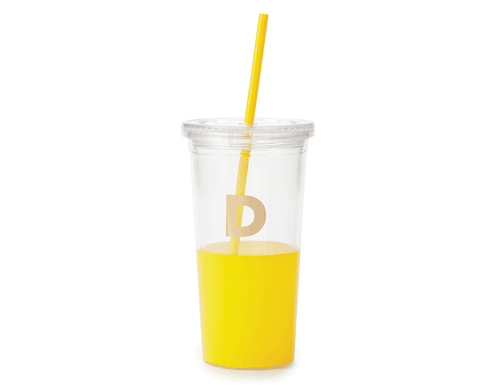 Kate Spade New York Dipped Initial Collection - Insulated Tumbler D