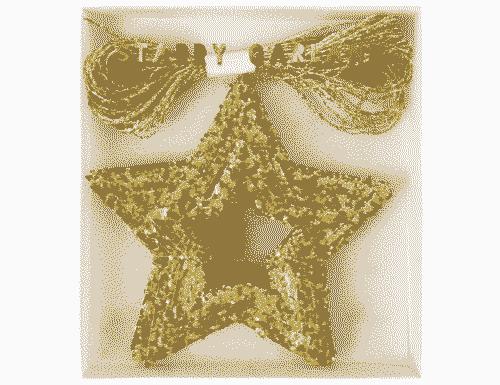 Mini Stars Garland - Gold