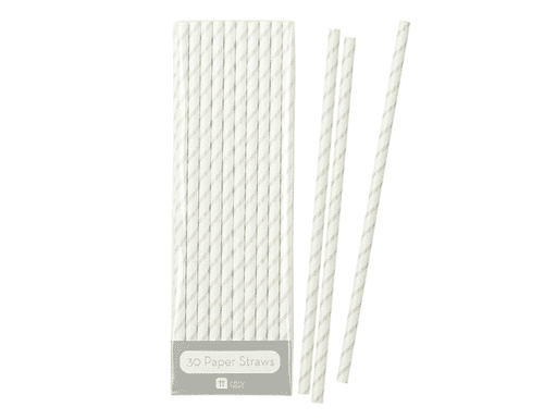Mix & Match Straws - Silver
