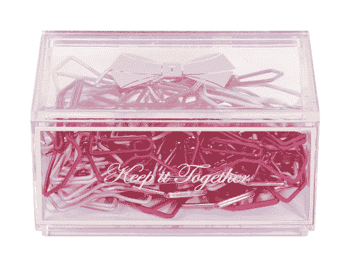 Ted Baker London Bow Shaped Paper Clips