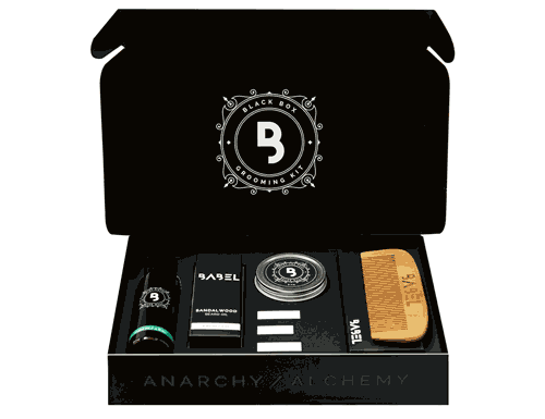 Cool Mint Black Box Grooming Kit