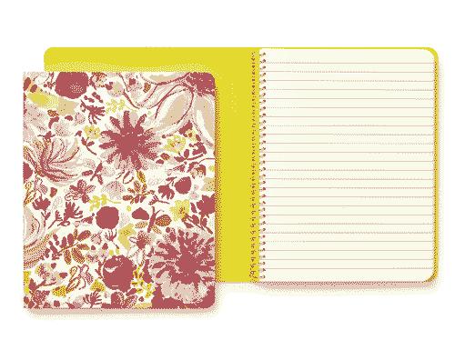 Kate Spade New York Spiral Notebook, Dahlia