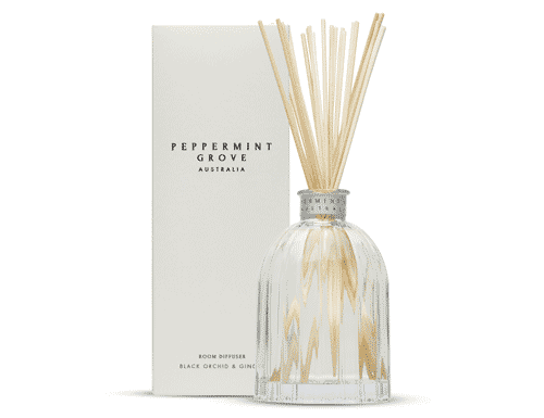 Peppermint Grove Black Orchid & Ginger Room Diffuser 350ml
