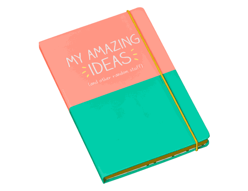 Happy Jackson Notebook My Amazing Ideas