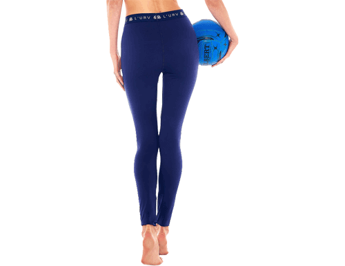 L'Urv Pure Days Legging in Navy