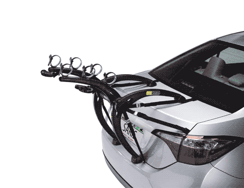 Saris Bones 3-Bike Car Trunk Mount Racks