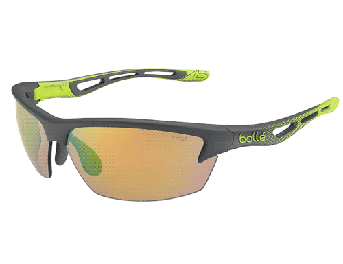 Bolle Bolt Glasses - Green & Brown