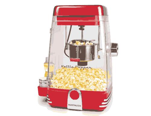 Nostalgia Retro Red Kettle Popcorn Maker