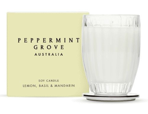 Peppermint Grove Lemon, Basil & Mandarin Candle 60g