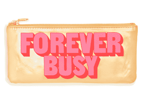 ban.do Get it Together Pencil Pouch - Forever Busy