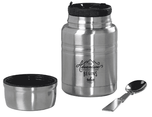 Gentlemen's Hardware Food Flask with Spoon 500ml
