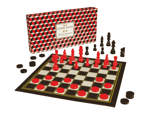 Ridley's Chess & Checkers Set
